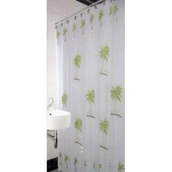 Шторка для ванной и душа Arya Palm Tree 180*180 см арт.1353025