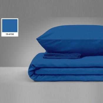 Наволочка на подушку Zastelli 40*60 см бязь 19-4150 Dark Blue арт.16962