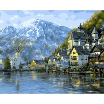 Картина по номерам ArtStory Прекрасная Австрия 40*50 см арт.AS0028