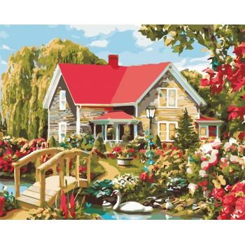Картина по номерам ArtStory Дом мечты 40*50 см арт.AS0541