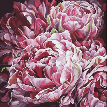 Картина по номерам Идейка Буйство красок 40*40 см (без коробки) арт.KHO3014