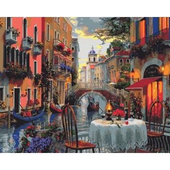 Картина по номерам Mariposa Вечер полный романтики 40*50 см арт.MR-Q2114