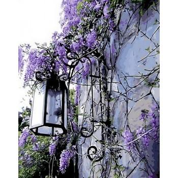 Картина по номерам Mariposa Сиреневый фонарь 40*50 см арт.MR-Q442