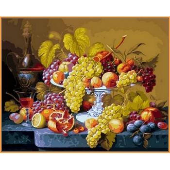 Картина по номерам Babylon Premium Роскошный виноград 40*50 см арт.NB598R