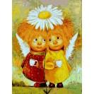 Картина по номерам Babylon Пара солнечных ангелов 30*40 см (в коробке) арт.VK233