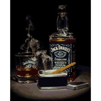Картина по номерам Babylon Джек Дэниэлс 2 40*50 см арт.VP1114