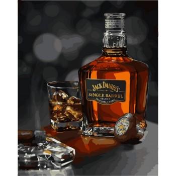 Картина по номерам Babylon Джек Дэниэлс 40*50 см арт.VP1116