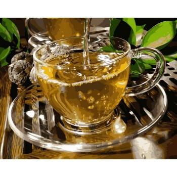 Картина по номерам Babylon Зеленый чай 40*50 см арт.VP1133