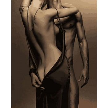 Картина по номерам Babylon Эротика 40*50 см арт.VP1212