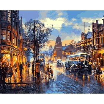 Картина по номерам Babylon Улочки Лондона 40*50 см арт.VP1241