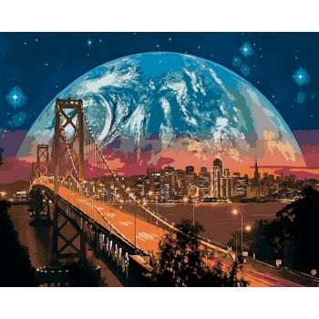 Картина по номерам Babylon Сан-Франциско 40*50 см арт.VP481