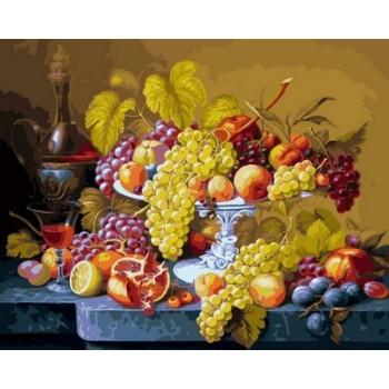 Картина по номерам Babylon Роскошный виноград 40*50 см (в коробке) арт.VP598